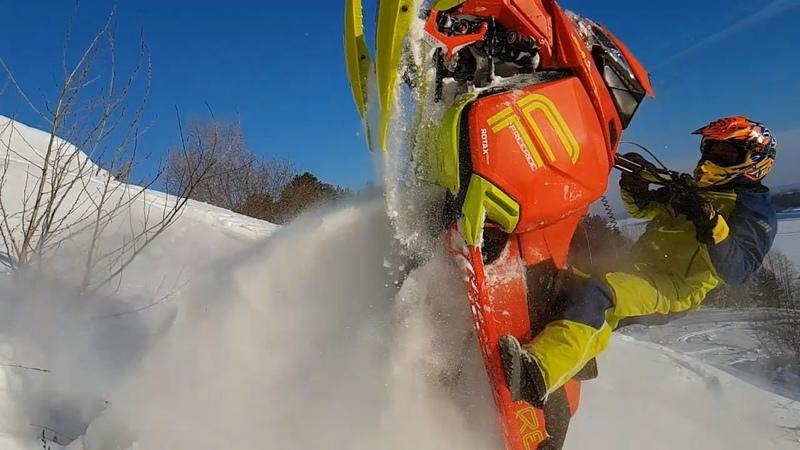 На снегоходе Ski-Doo Freeride