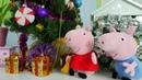 Peppa Pig Português. Vídeos de brinquedos.
