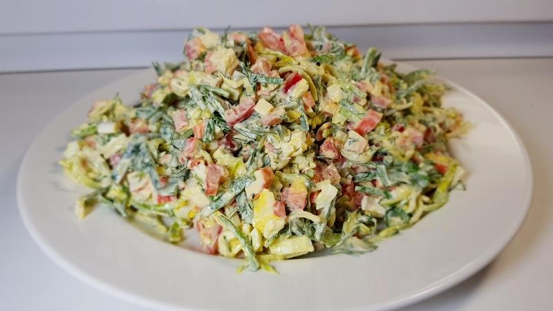 Потрясающе вкусный салат. Все кто пробуют остаются довольны.