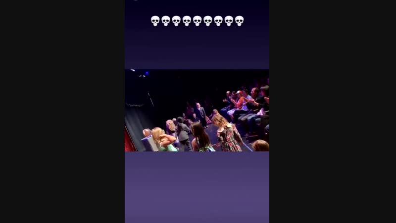 [Instagram-Story] Mavi in the play