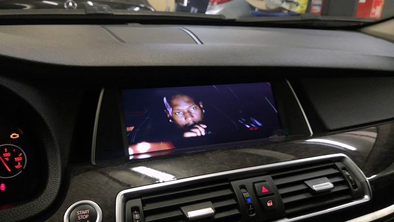 Штатная магнитола BMW 5 серии кузов F07 GT 2011 2012 на Android PF8258i
