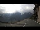 Высокогорная дорога Гросглоккнер в Австрии опасные повороты