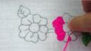 Hand embroidery nakshi kantha border line design 4