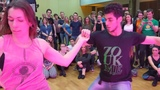 WZF2019 Gaelle &amp Hugo in Saturday afternoon class demo-2 ~ Zouk Soul
