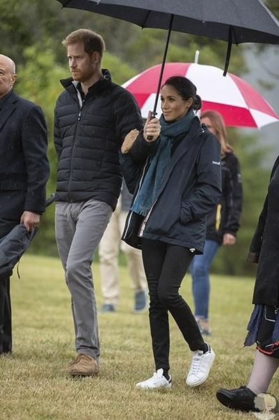 Меган Маркл и принц Гарри в Новой Зеландии