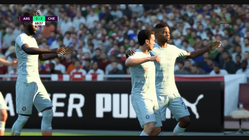FIFA19 Педро використовує помилку Арсенала