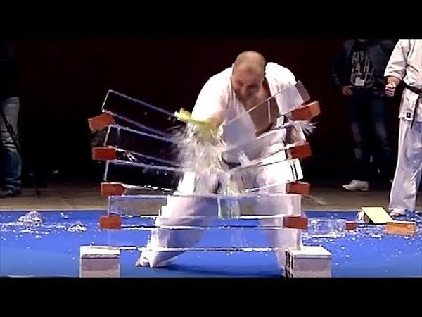 Kyokushinkai - Casse de glace - 28ème Festival des Arts Martiaux