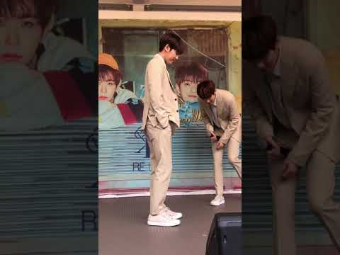 [FANCAM] 190527 백퍼센트(100%) - Still Loving You (Jonghwan focus) @ Osaka - Morinomiya Q's Mall BASE