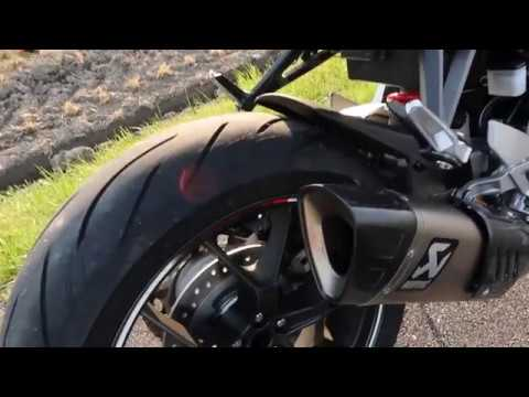 Honda CB1000R 2018 UpGrade Full Akrapovic Titanium DB-Killer out and FLYBY