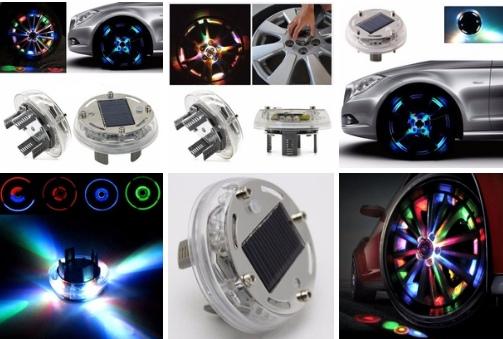 Светодиодная программируемая подсветка дисков