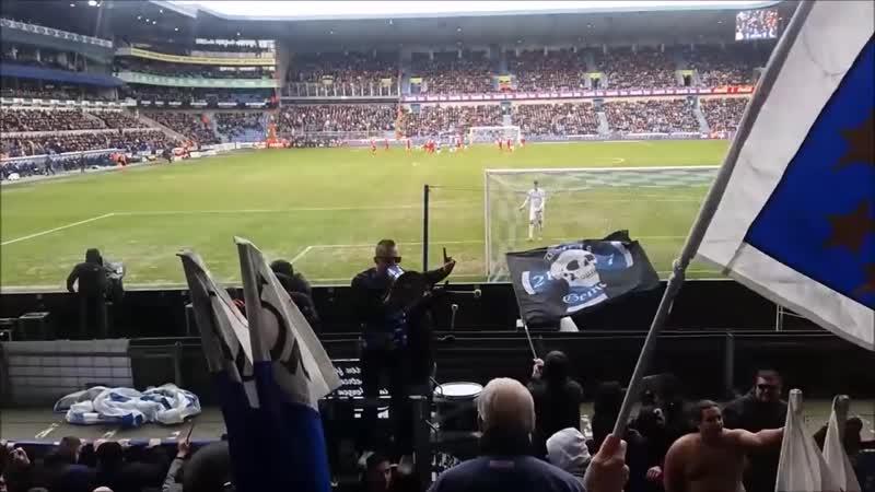 KRC Genk - Club Brugge 3-2 Tribune zuid