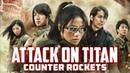That One Live Action Attack on Titan Miniseries Hangeki No Noroshi - aka Counter Rockets