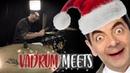 Vadrum Meets Mr Bean Merry Christmas Drum Video