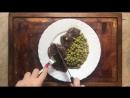 Говяжий стейк в гороховом соусе