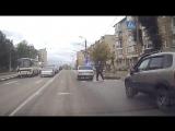 Инспектор ДПС сбил пенсионера на пешеходном переходе в Туле