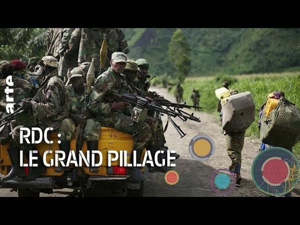 RDC le grand pillage - Le Dessous des cartes - ARTE