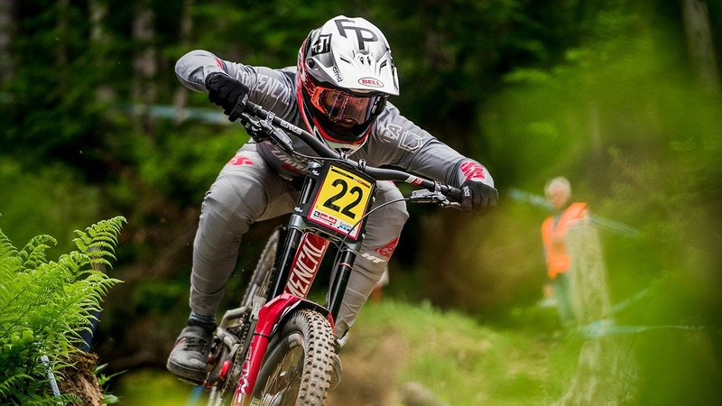 UCI DH World Cup 3 - Leogang, The Fast And Loose Autobahn