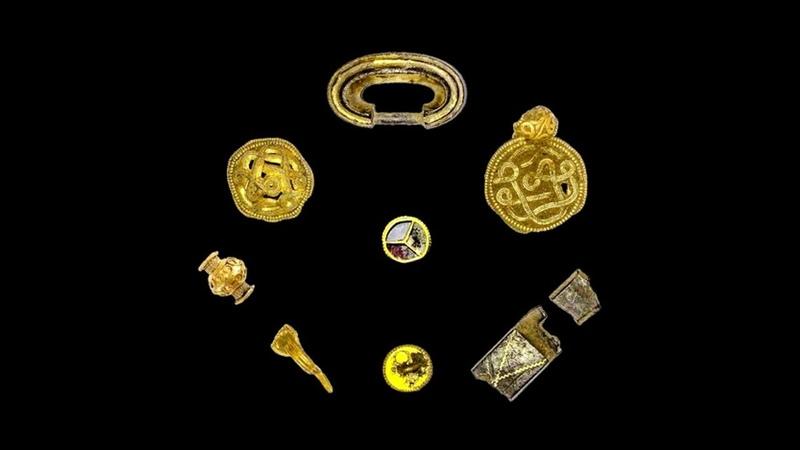 Найден Клад, Закопанный в 536 году, 2019, Found Treasure, Buried in 536 AD