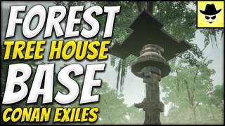 Forest Tree House Base - Conan Exiles