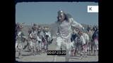 Traditional Bolivian Dancing, 1960s South America, HD