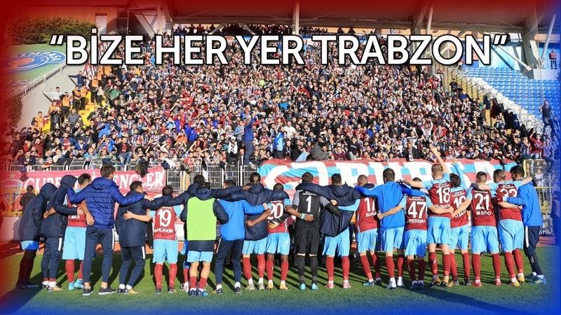 Trabzonspor Taraftarı Kasımpaşada! (09.12.2017)