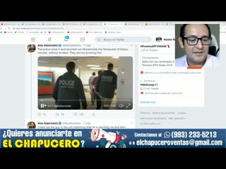 Servicio secreto de eu quiere tomar por asalto embajada venezolana en washington