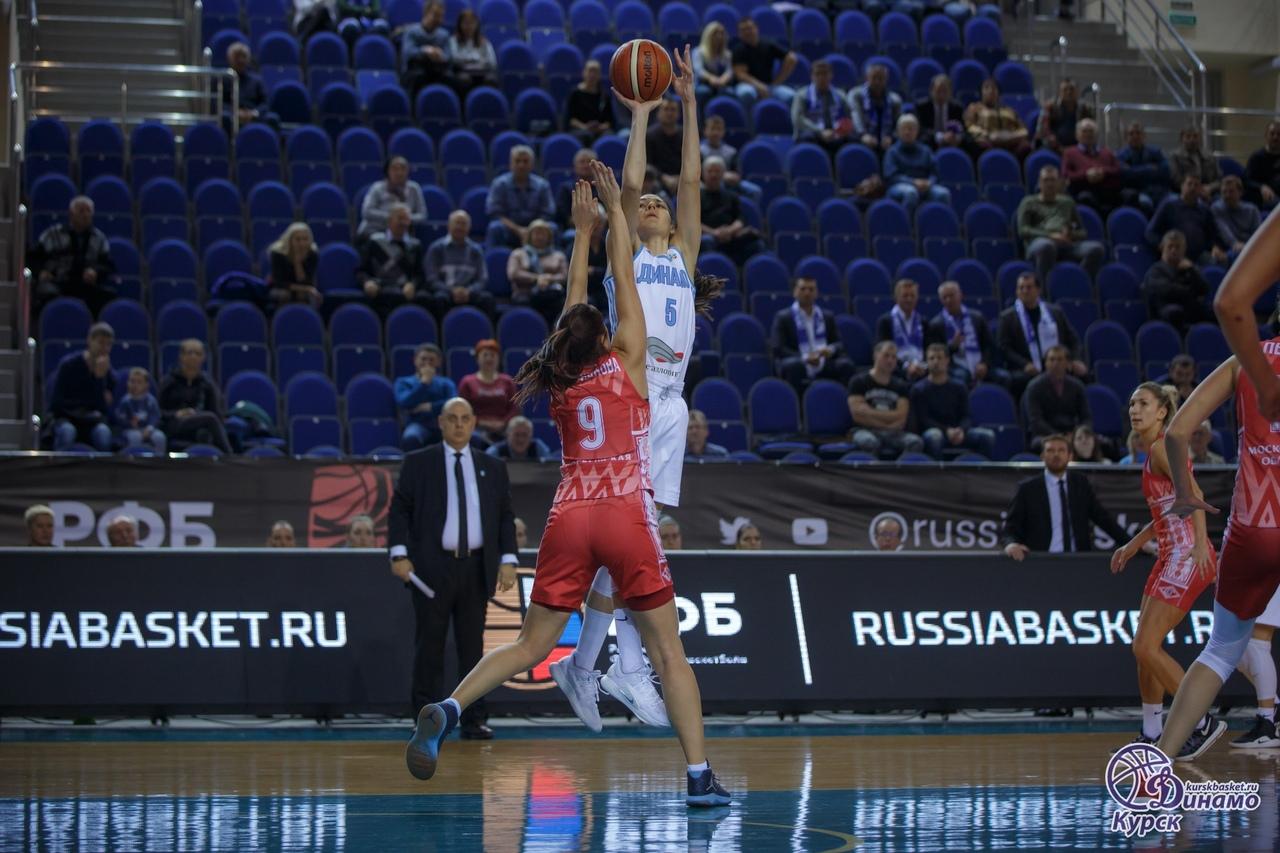 У курских баскетболисток - 1 победа и 1 поражение