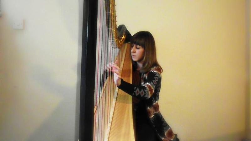 Mamma Mia - ABBA harp cover
