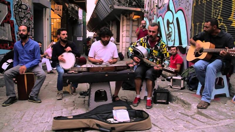 Kararsizlar - çeşmi siyahım - street shooting in Tünel Sahne - Istanbul - 31082014