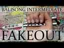 Нож бабочка Балисонг трюки флиппинг средний уровень 4 Fakeout