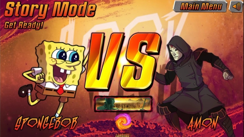 Губка Боб vs D. Crocker Amon Master Junjie