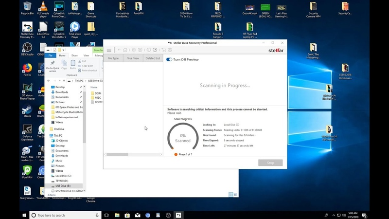 How To Recover Permanently Deleted Files From PC Windows 10 Stellar Data Recovery Professional
