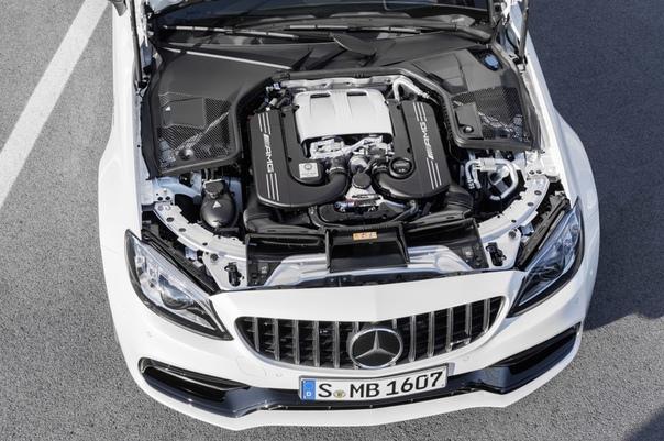 Обновленный Mercedes-AMG C 63 S Coupe 2018 C 63 CoupеДвигатель: 4.0 V8 BiTurbo- Daimler-Benz M177 DE40 ALМощность: 476 л.с. при 5500 - 6250 об/мин Крутящий момент: 650 Нм при 1750 - 4500