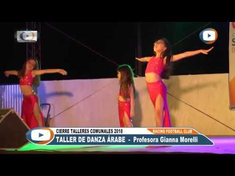 Danza Española 2da parte y Danza Árabe - Talleres Culturales 2018