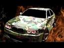 Сумасшедшая горящая и говорящая BMW (Первый день в программе VEGAS PRO 16.0 и Crazy Talk)