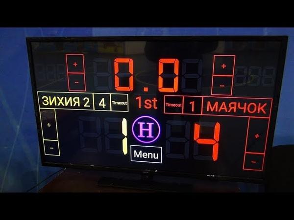 Чемпионат КБР по мини-футболу 201819. ПД. 1 тур. Зихия - Маячок. 1 тайм