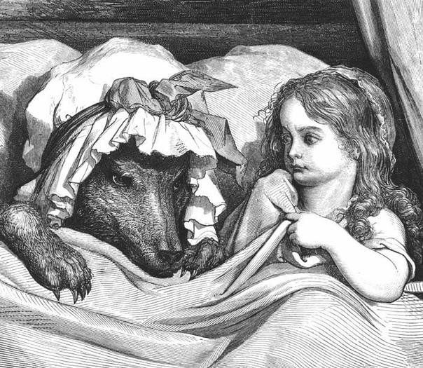 Красная шапочка или реальная история оборотня из Бедбурга Шарль Перро, а вслед за ним братья Гримм, подарили миру поучительную детскую сказку, но до них самих дошли лишь отголоски совсем другой