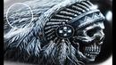 Airbrush Painting Indian Skull | Harley-Davidson | by Igor Amidzic