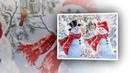 Песня Снеговика ❄❄❄ Художница Дона Джелсингер Dona Gelsinger
