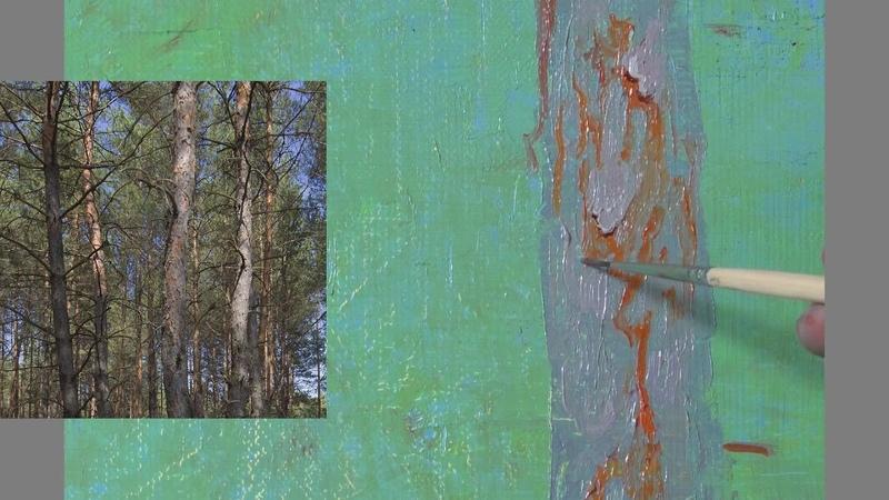 Клапоух Юрий. Кора деревьев. Часть3.