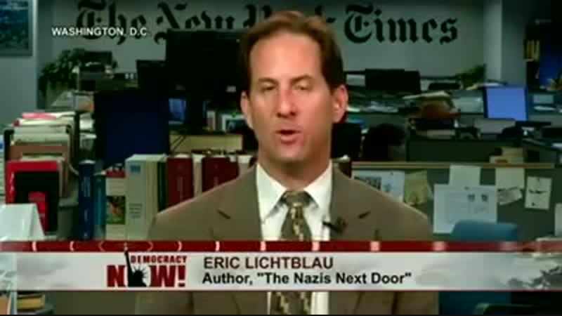 CIA FBI recruited Nazi War Criminals