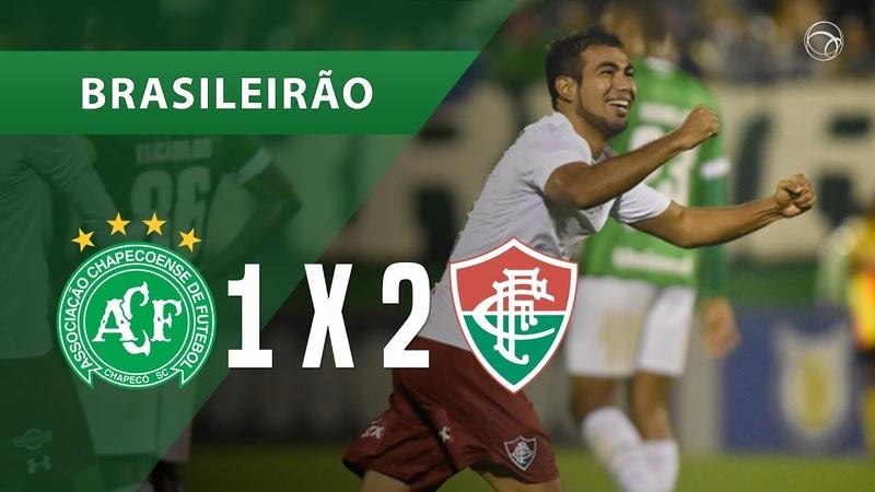 CHAPECOENSE 1 X 2 FLUMINENSE - GOLS - 24/09 - BRASILEIRÃO 2018