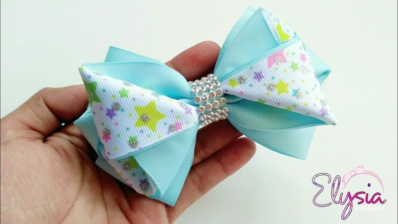 [PREVIEW] LaçoTriangle Fita N9 🎀 Ribbon Bow 🎀 DIY by Elysia Handmade