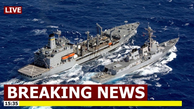 China Panic: China reacts with FURY after US sails warships through strategic Taiwan Strait
