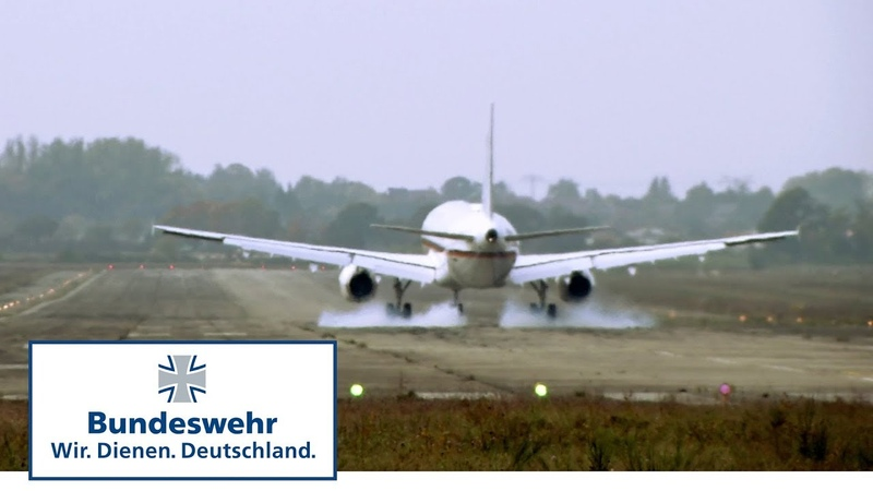 """Die """"Deutsche Air Force One Neues Regierungsflugzeug für die Bundeswehr"""