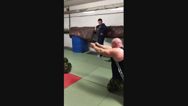 Мастер-класс с Максимом Новоселовым для курсантов Московского Колледжа Полиции.