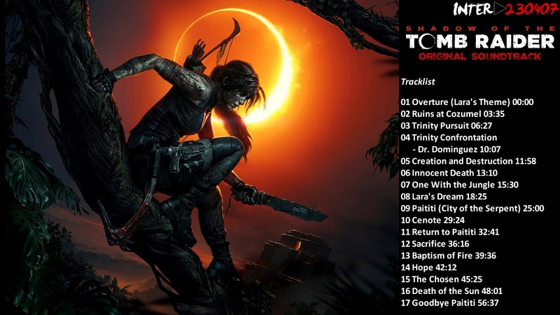 Shadow of the Tomb Raider - Original Soundtrack