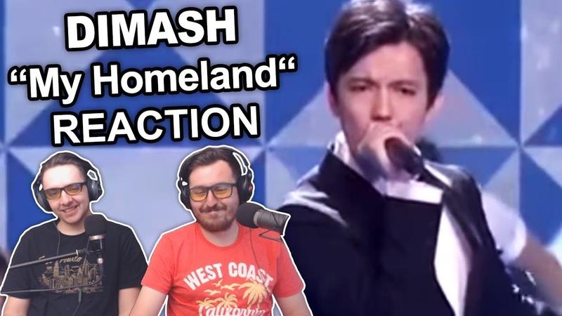 Dimash My Homeland Singers Reaction