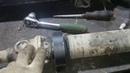 Ремонт технички. Замена подвесного и поиск альтернативного пыльника шруса на среднем кардане.