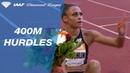 Sydney McLaughlin sets a world lead over a strong field in Monaco - IAAF Diamond League 2019